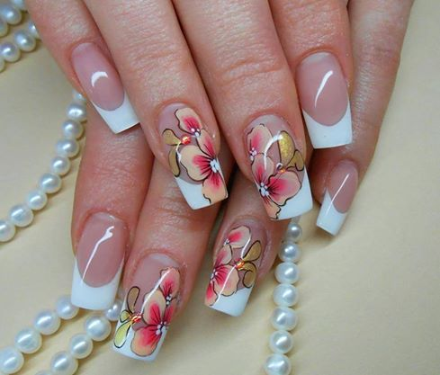 Nail Design Ideas 2015 acrylic nail art ideas for spring 2015 Cute Acrylic Nail Designs Ideas 2015 To Make Pointed Acrylic Nail Art Acrylic Gel Nails
