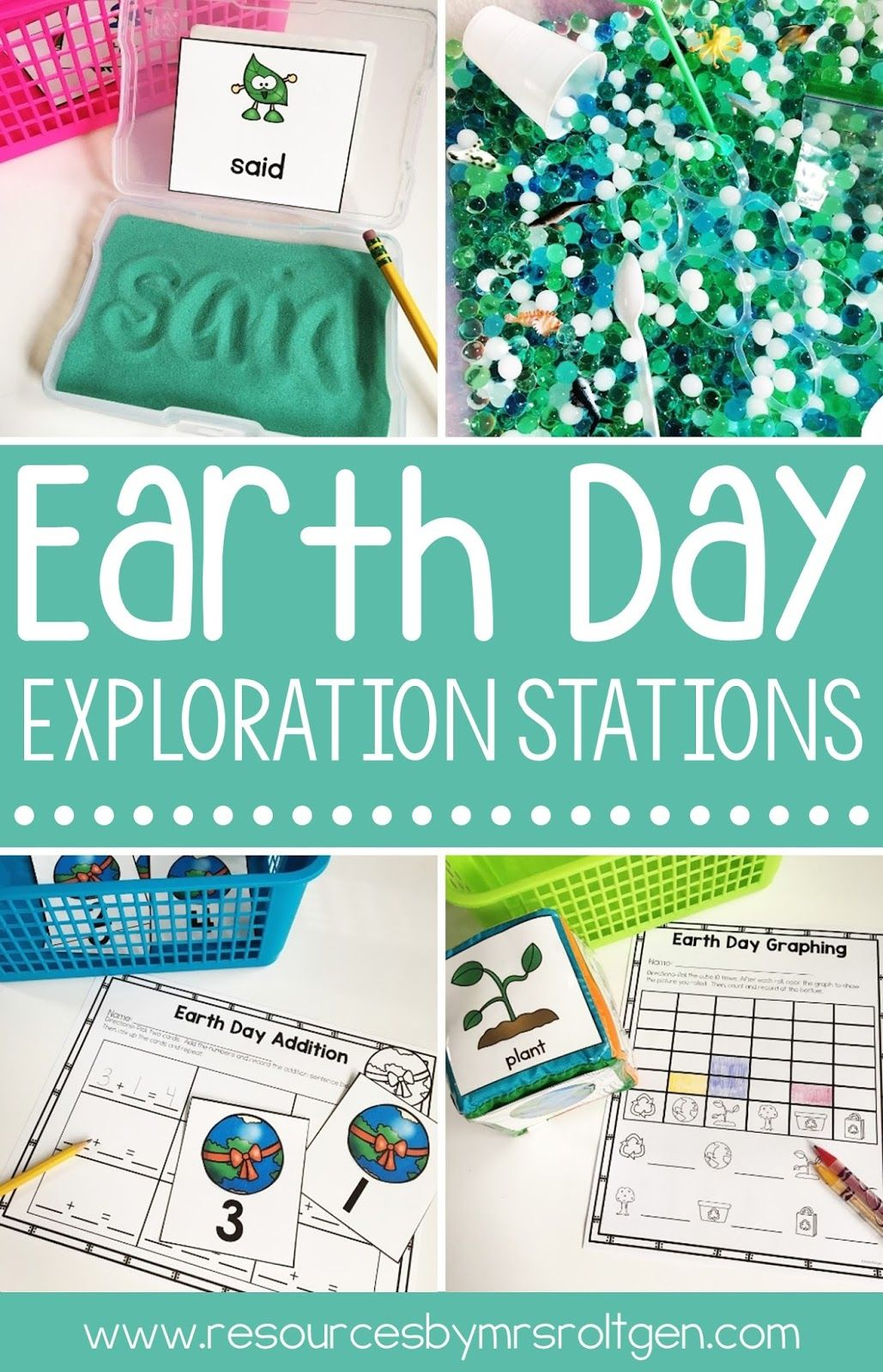 Earth Day Exploration Stations Or Centers