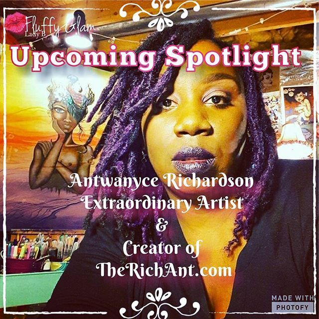 Reposting @fluffyglam_ladyb: Hit the link in the bio and check out Spotlights on you...Next Spotlight is on @therichantart , join me as I learn all about this amazing young artist. . . . . . . . . . #art #blog #spotlight #bloglife #blogger #entrepreneur #life #fluffyglam #fglb💋#lifeisart #blackswhoblog #womenwhoblog #womenempowerment #empowerment #talktime #supportoverhate #artist #positivevibes #upliftandinspire