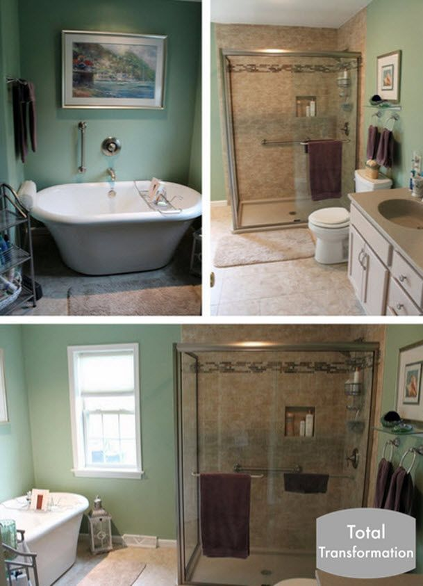 Beautiful Stand Alone Tub And Bathroom Remodel Completedour Classy Bathroom Remodeling Lancaster Pa Review