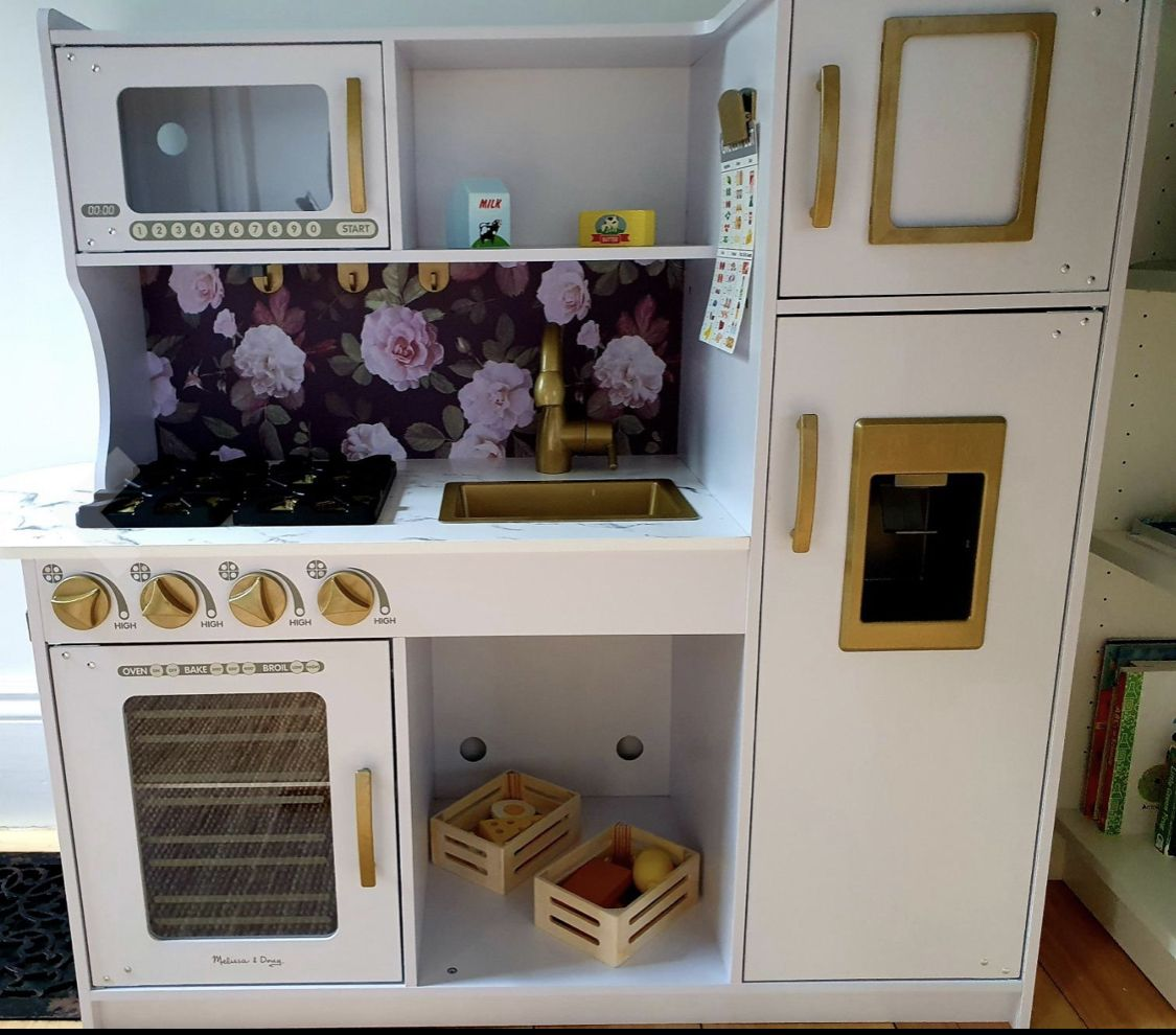Melissa and Doug Kitchen Makeover in 2020 Kitchen