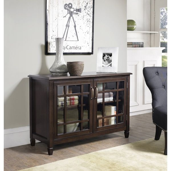 Best Wyndenhall Hampshire Solid Wood 46 Inch Wide Traditional 400 x 300