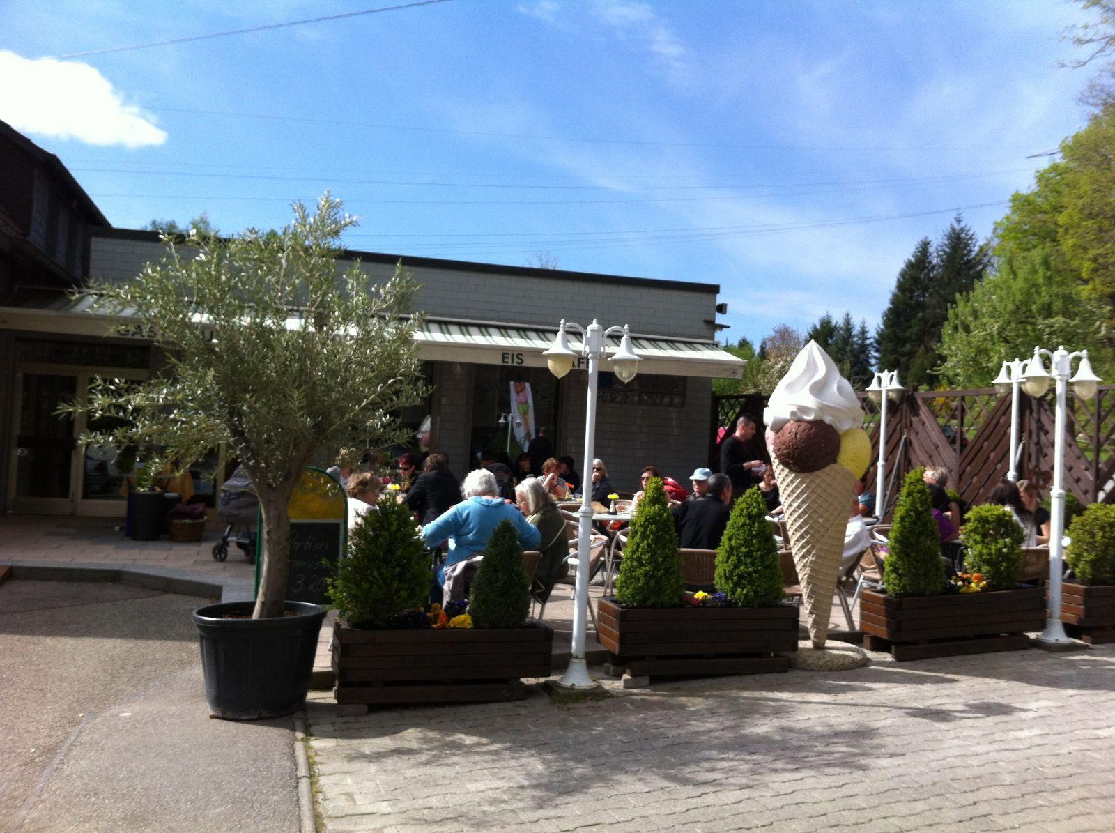Eiscafe Ai Giardini Waldschenke Hubere in Birkenfeld, Baden ...