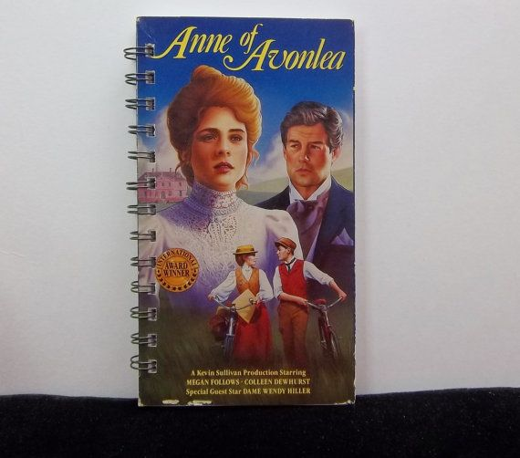 Recycled Notebook From Anne Of Avonlea VHS by AutumnWindsJewelry, $8.00