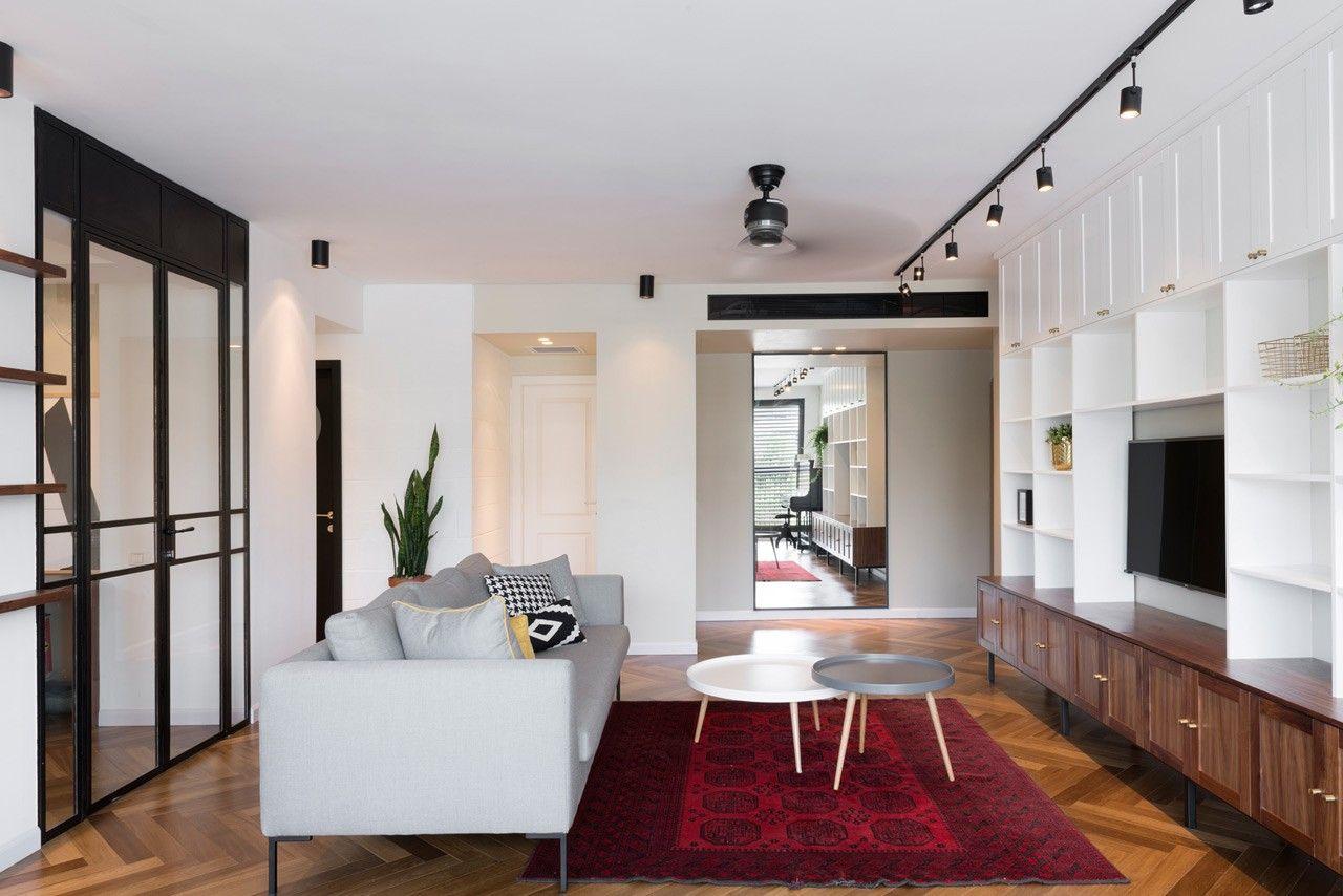 Rénovation d'un appartement familial à Tel Aviv par Raanan