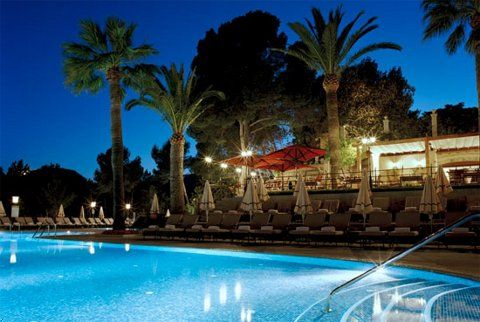 Castillo Hotel Son Vida in Palma de Mallorca, Spain at