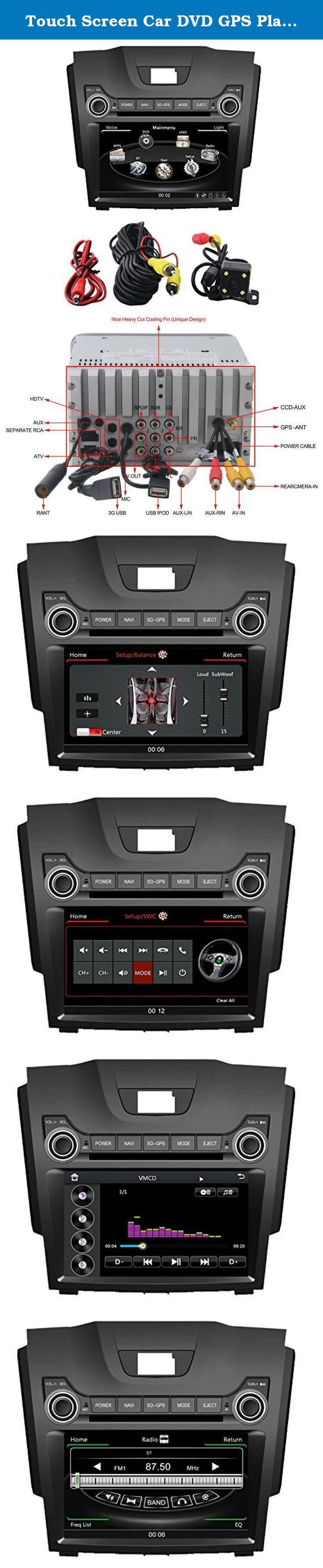 Touch Screen Car Dvd Gps Player For Chevrolet S10 Trailblazer Isuzu D Max Navigation Radio Bt Tv Ipod 3g Free Navigation Map Chevrolet Trailblazer Isuzu D Max