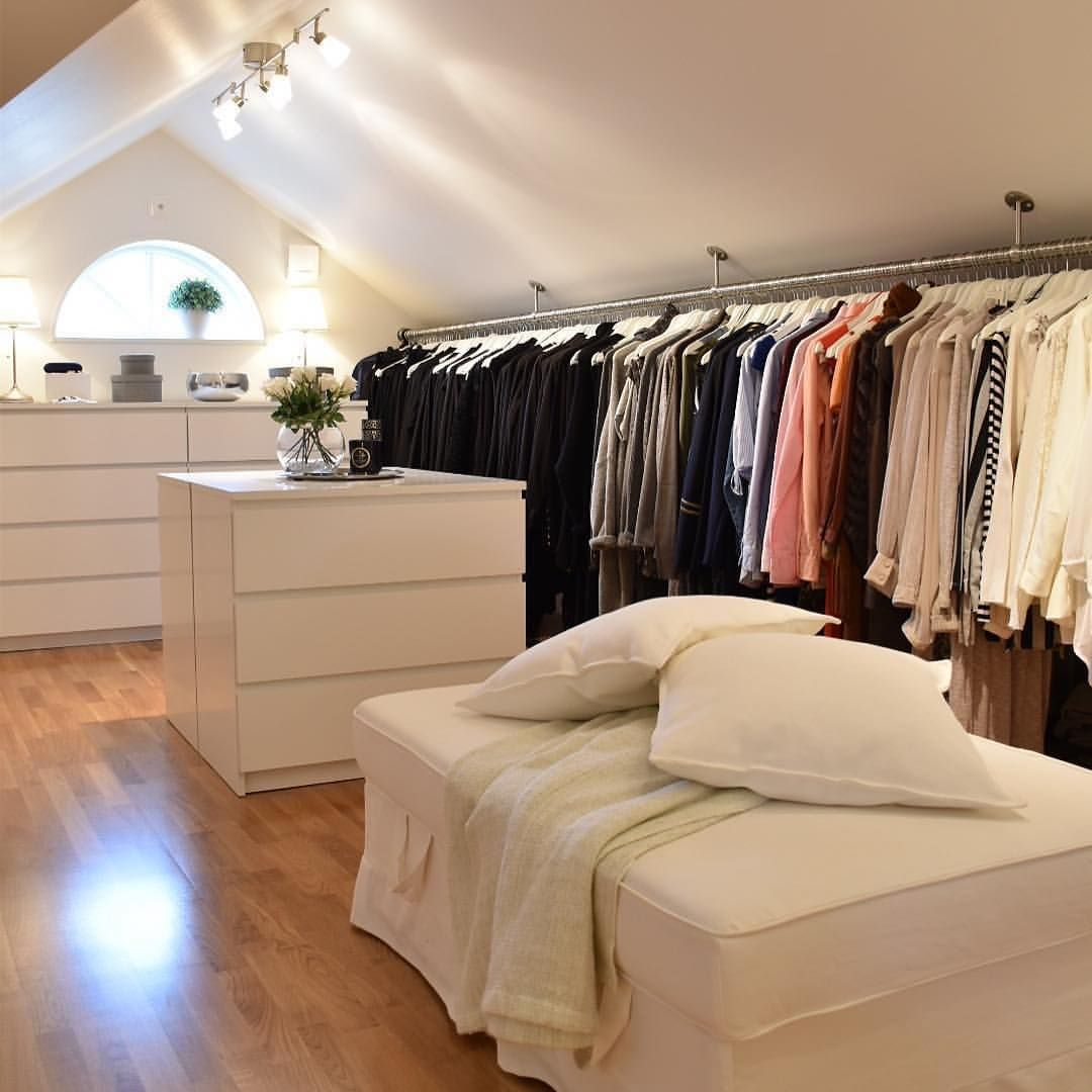 Attic Master Bedroom Slanted Walls