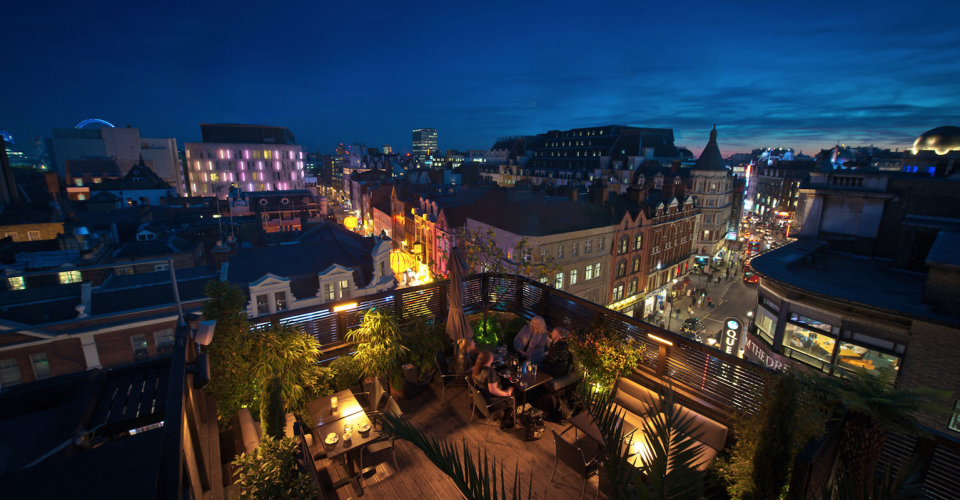 London S Best Private Members Clubs Rooftop Rooftop Bar Hilton Hotel London