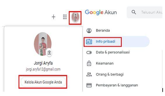 ganti nama di google meet