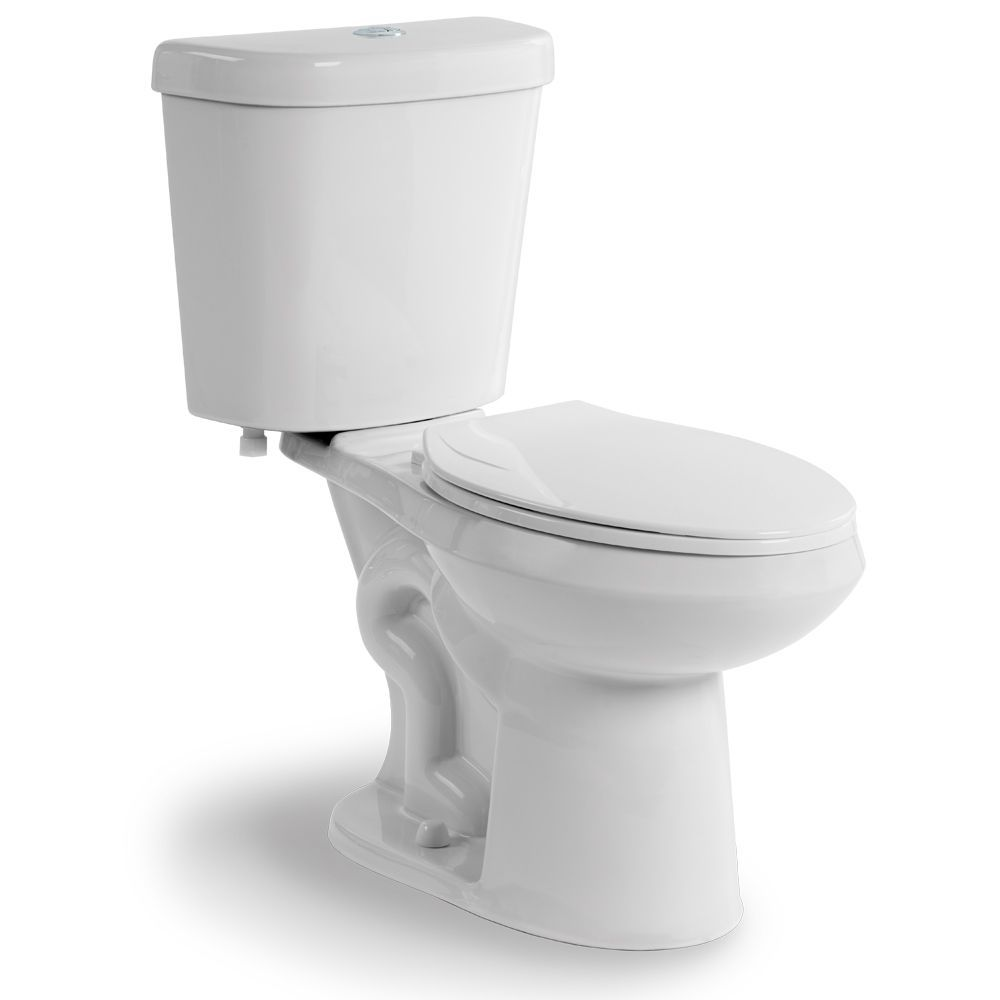 All In One 2 Piece 4 1 6 0 Lpf Dual Flush Elongated Bowl Toilet In