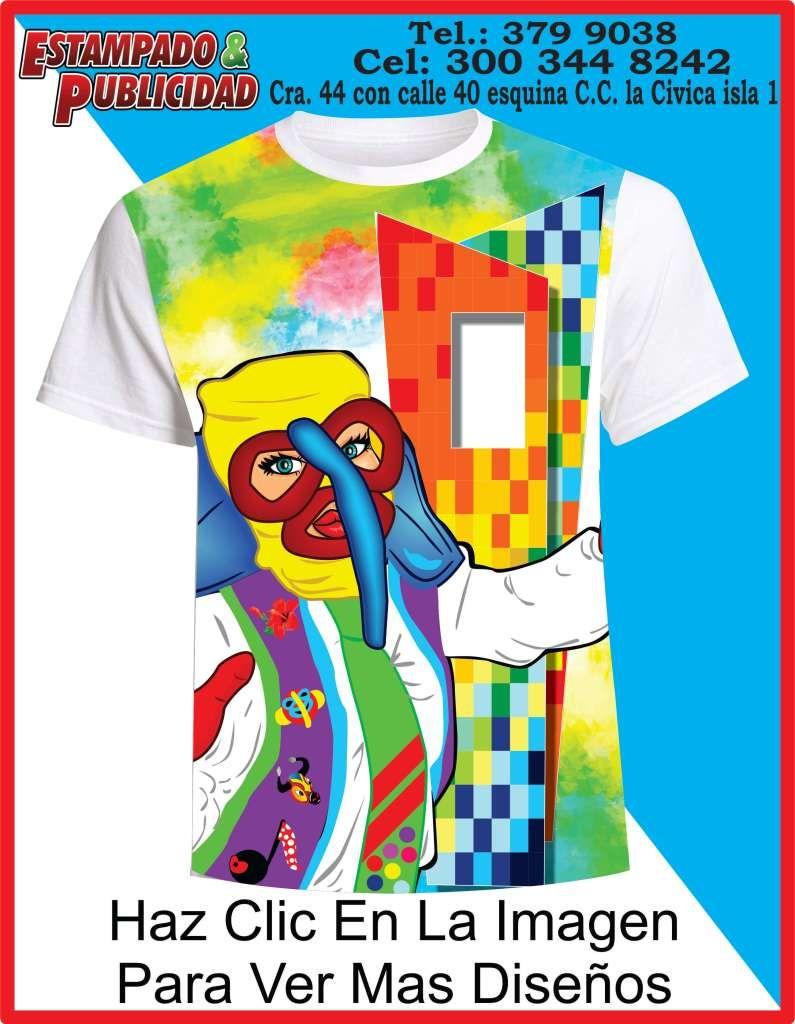 b44d26400 Camisetas de carnaval 2019 ventana al mundo | Carnaval barranquilla ...