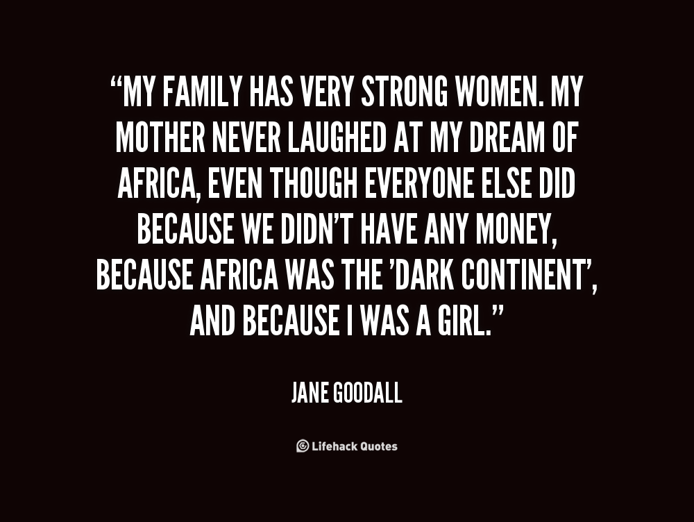 jane goodall quotes women - Google Search