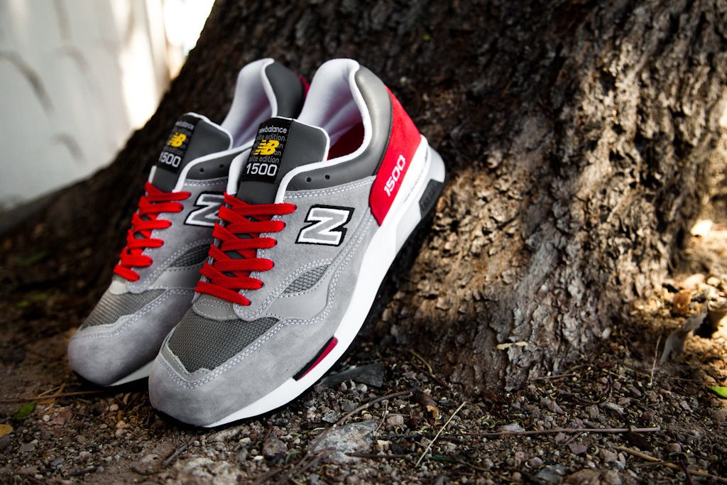 new balance red laces