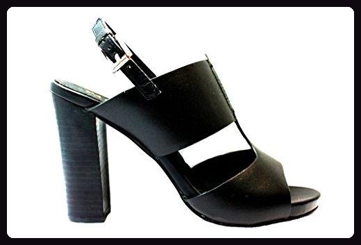 CafèNoir , Damen Sandalen, schwarz - schwarz - Größe: 35 - Sandalen für frauen (*Partner-Link)