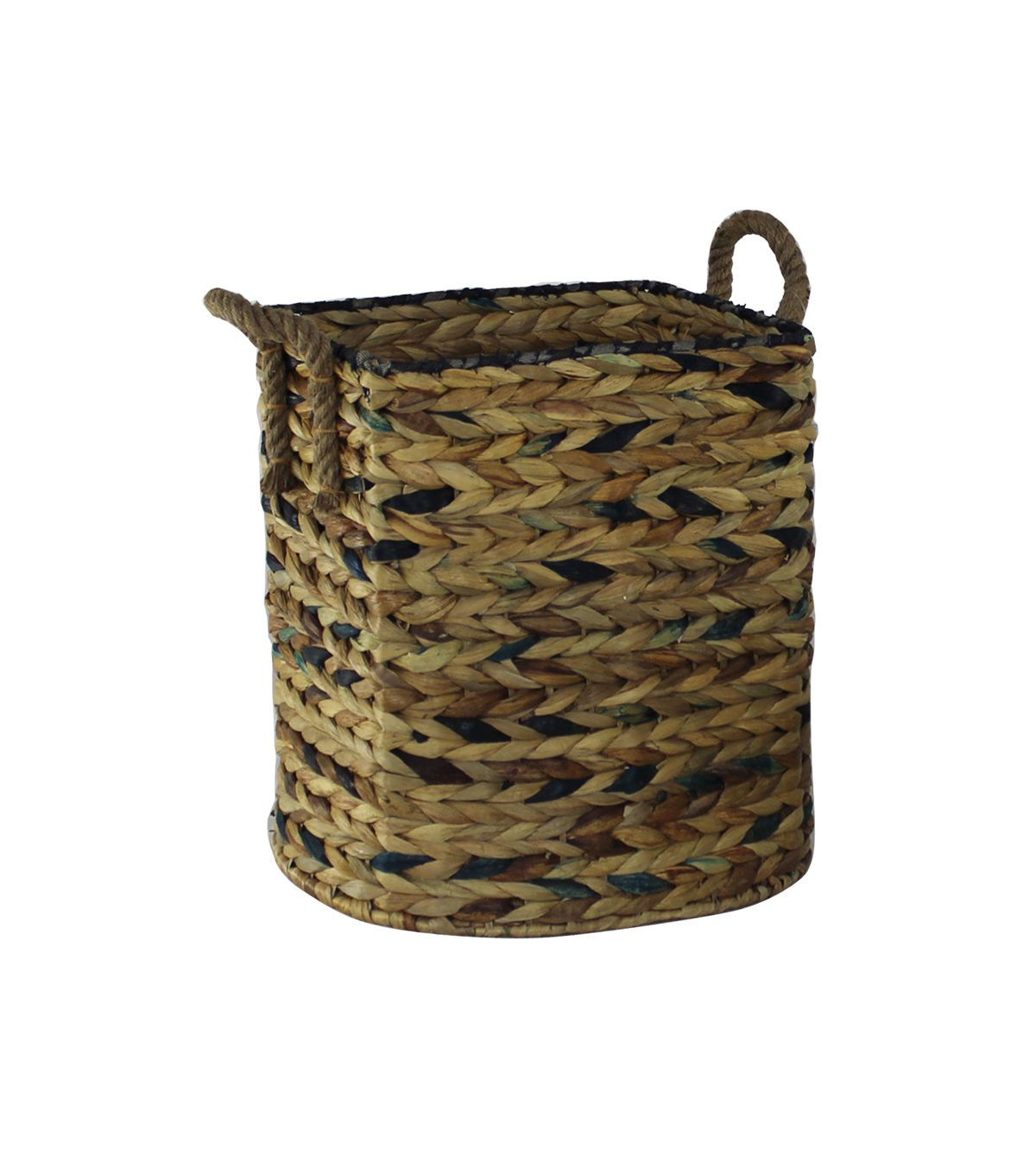 Idea Market Hand-Done Small Water Hyacinth Storage Basket