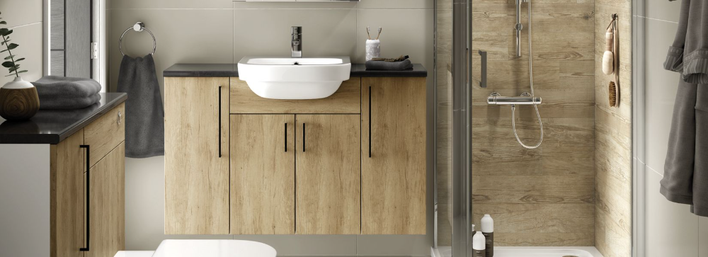 Vienna Fitted Bathroom Furniture Wickes Co Uk In 2020 Fitted
