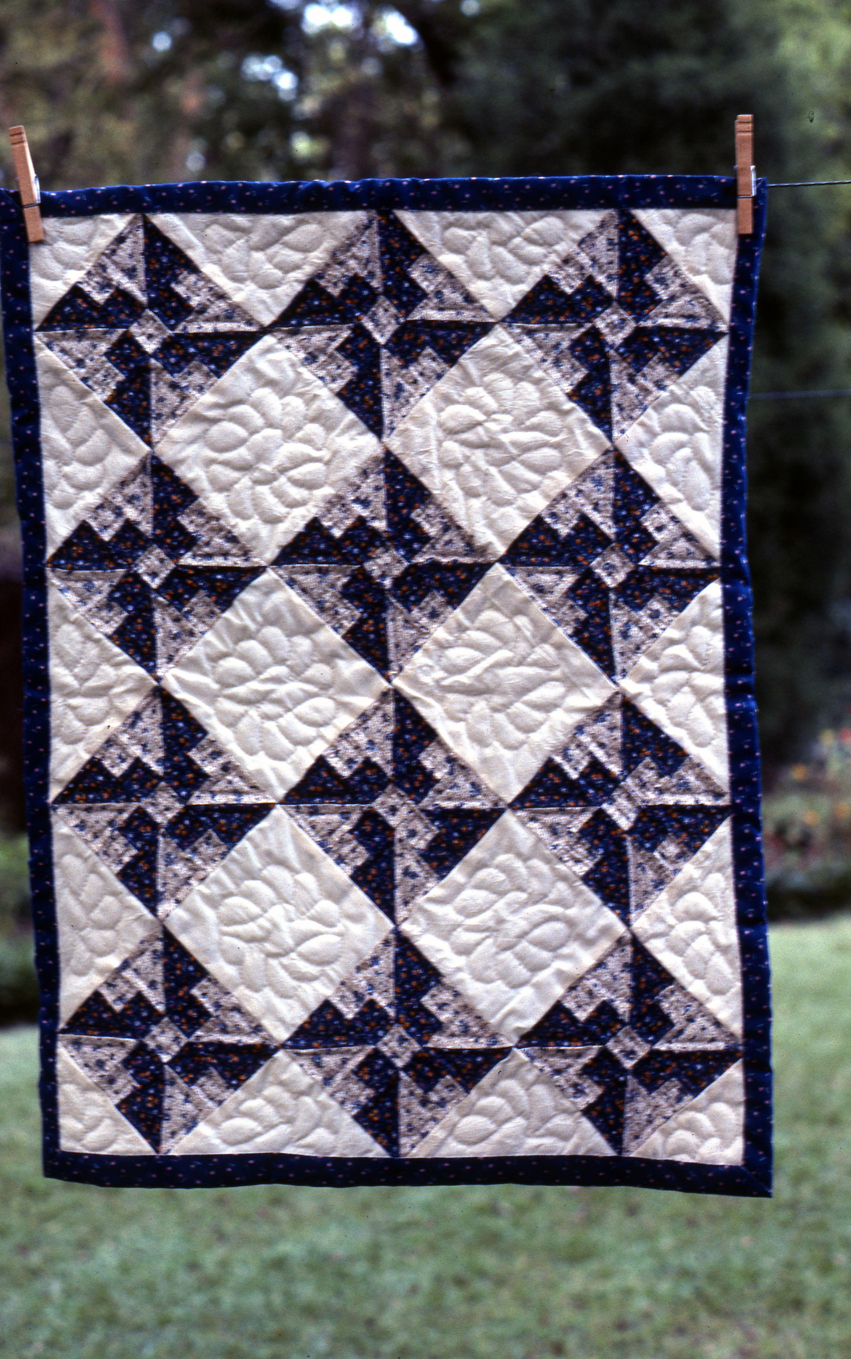 crib quilt, L. Ramke