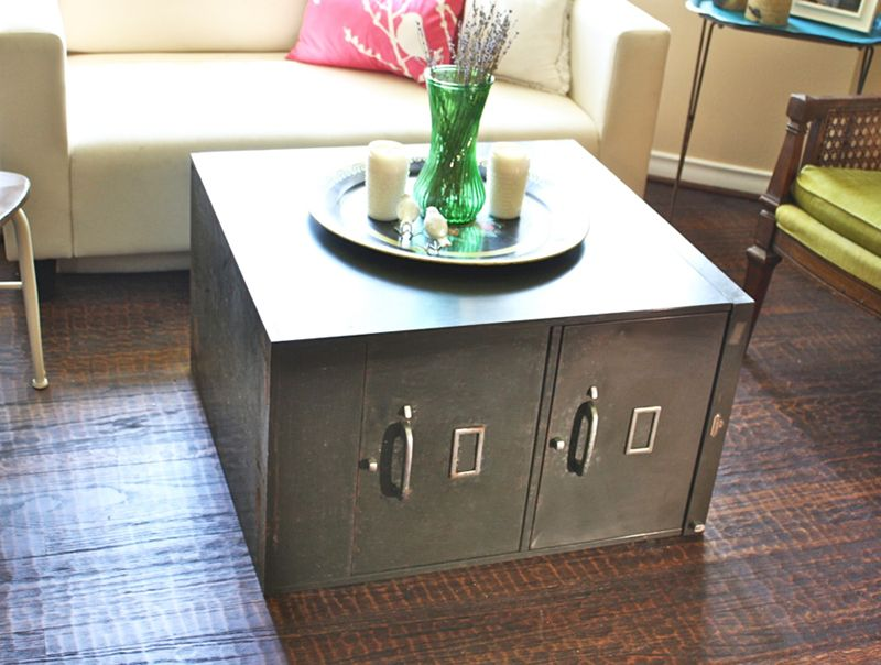 File Cabinet Coffee Table Filing Cabinet Made Coffee Table
