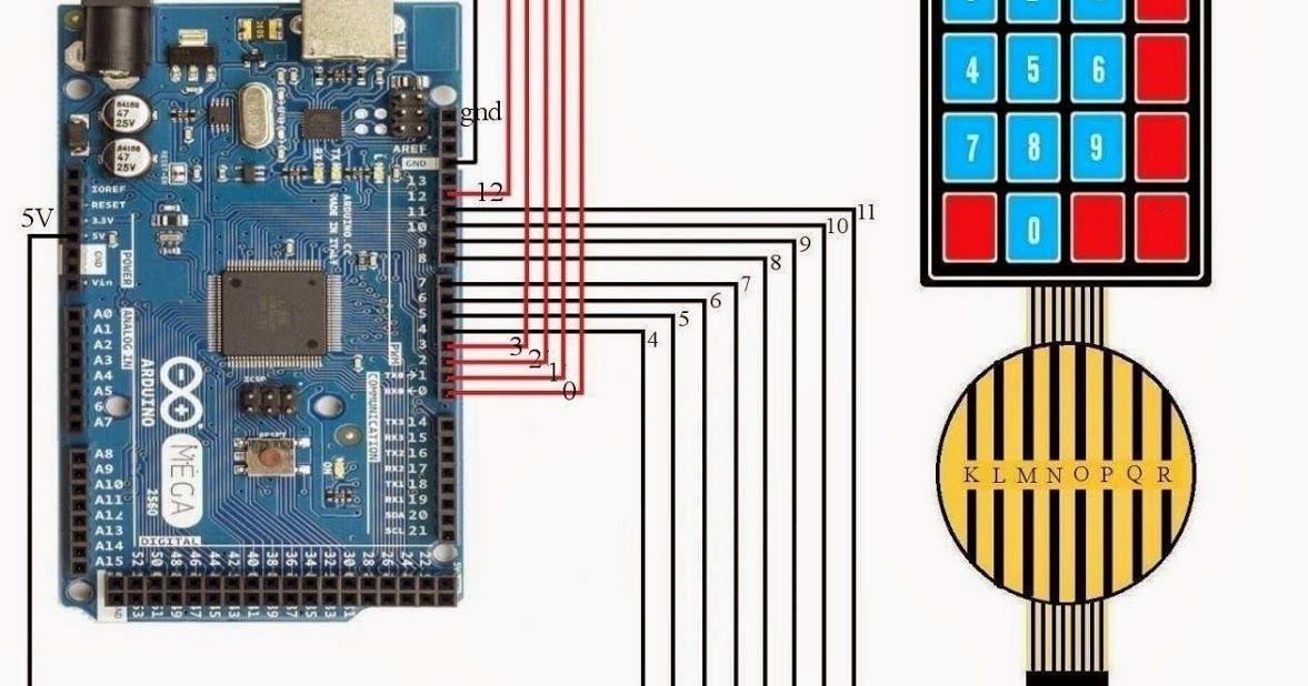 Amazing Demonstration Of Interfacing Keyboard To Arduino Mega Arduino Mega Seven Segment Display Interfacing Using C Arduino Seven Segment Display Interfacing