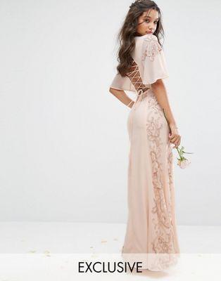 Maya ombre maxi dress