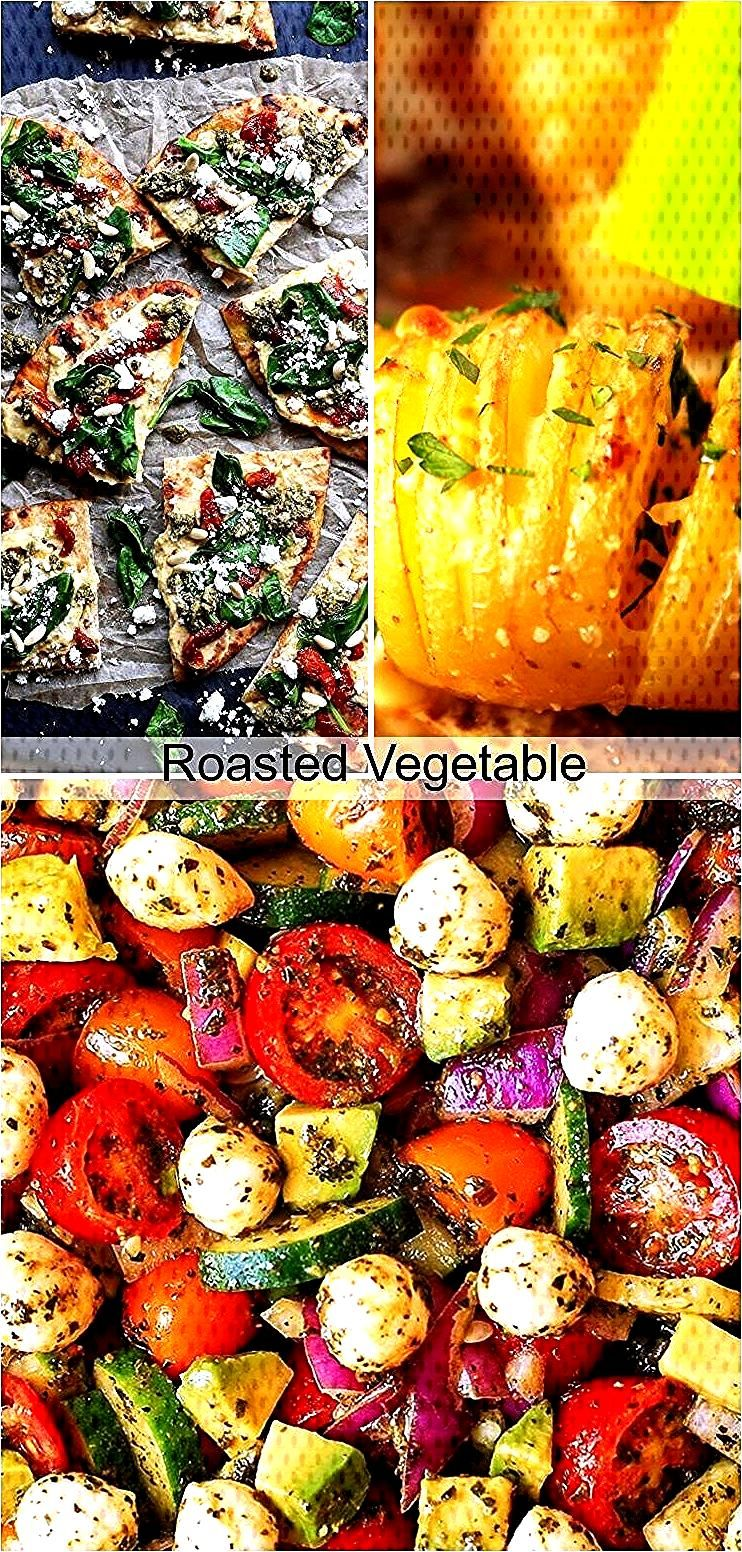 Roasted Vegetable amp Feta Cheese Quinoa Bake,