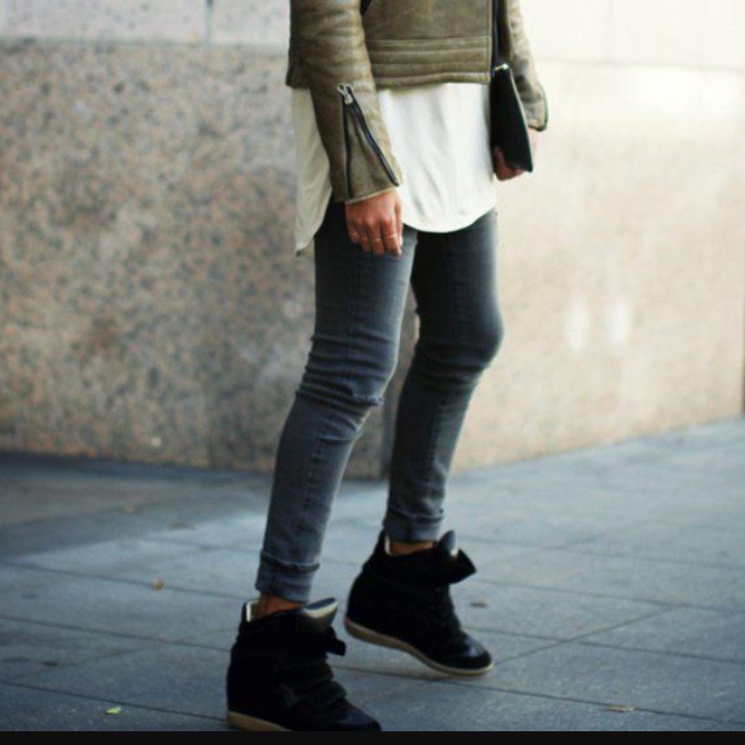 Isabel Marant Bekett Leather Suede