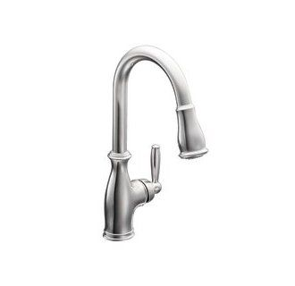 Moen 7185 Single Handle Kitchen Faucet With Pull Out Spray
