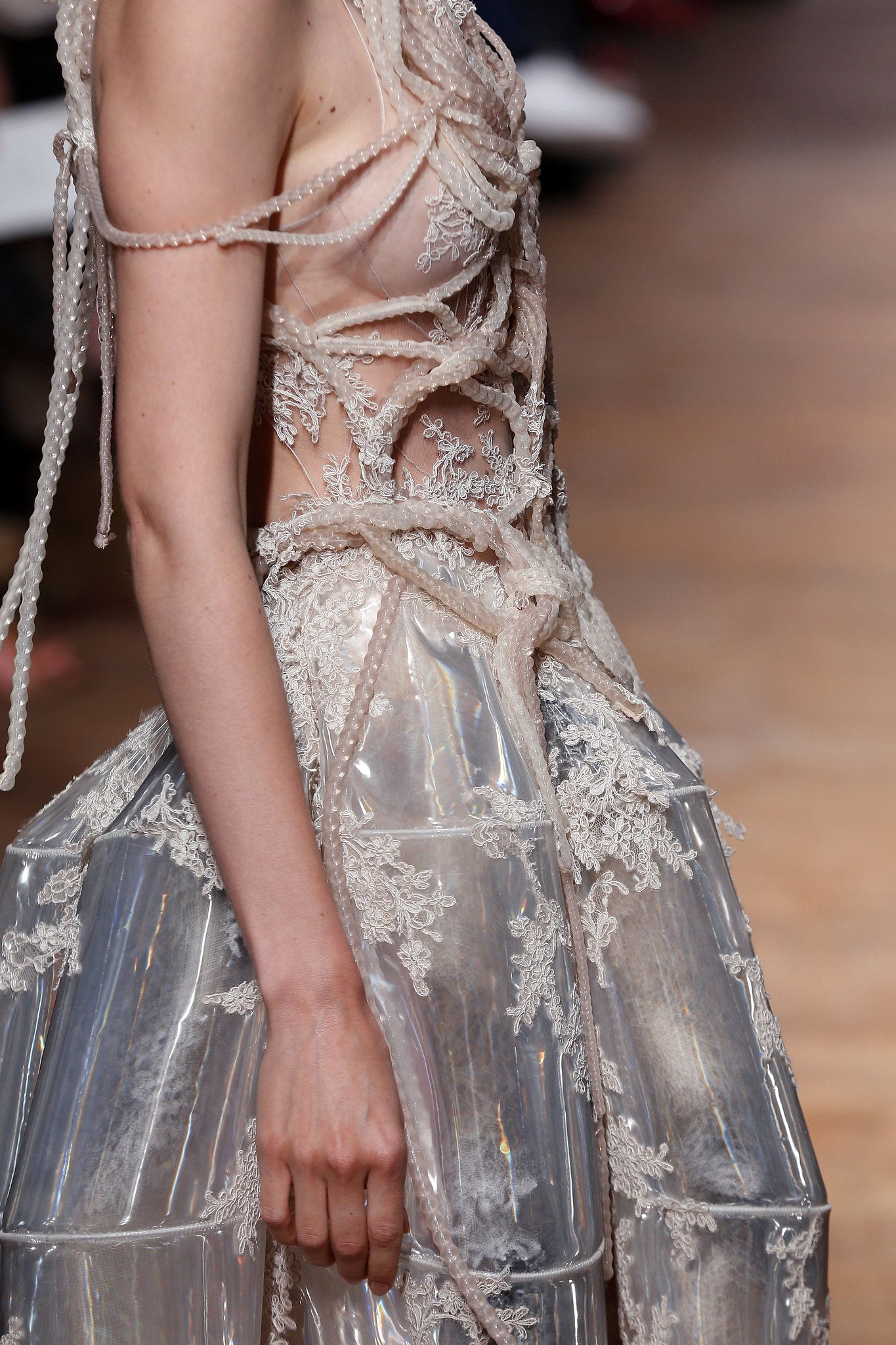 Paris Couture Fashion Week: Yiqing Yin Fall 2013 ~details