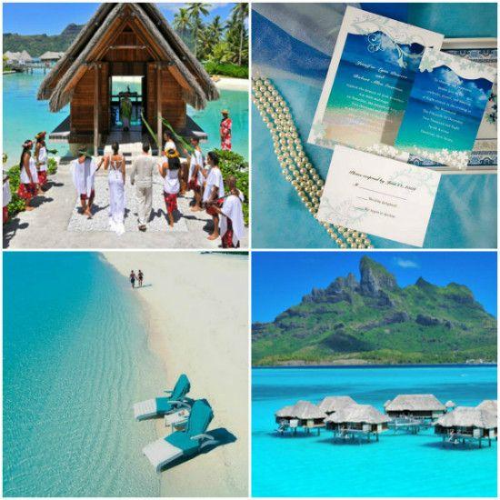 Destination Wedding Ideas Bora