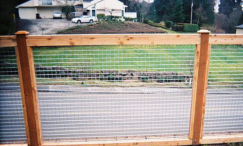 Full Panel Cedar Fence Photo Gallery | Seattle Fence Installer ...