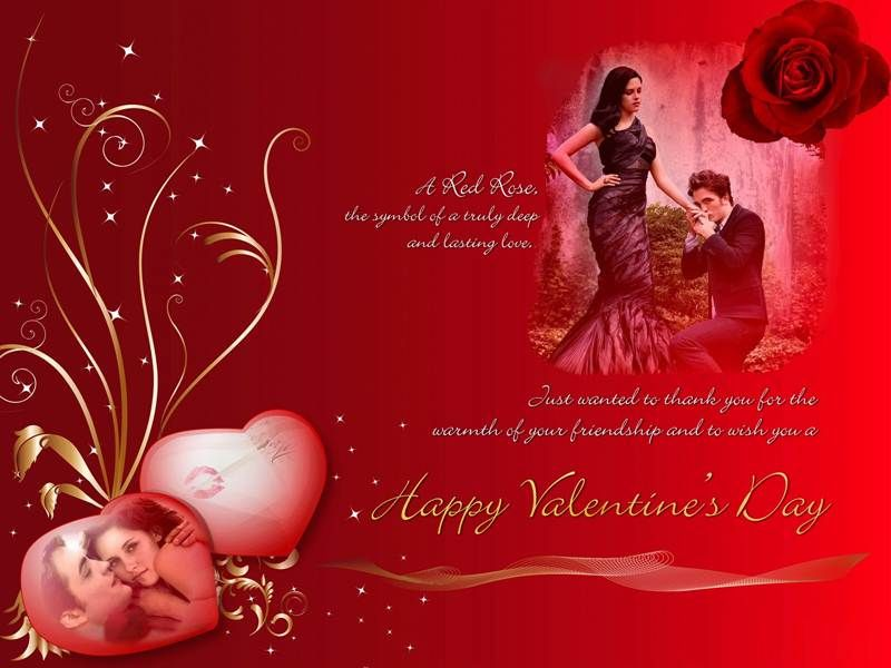 Fabulous Valentines Day Greetings Card – Card for Valentine Day