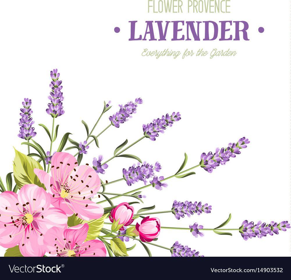 Botanical Flowers Garland Vector Image On Vectorstock Botanical Flowers Flower Garlands Provence Garden