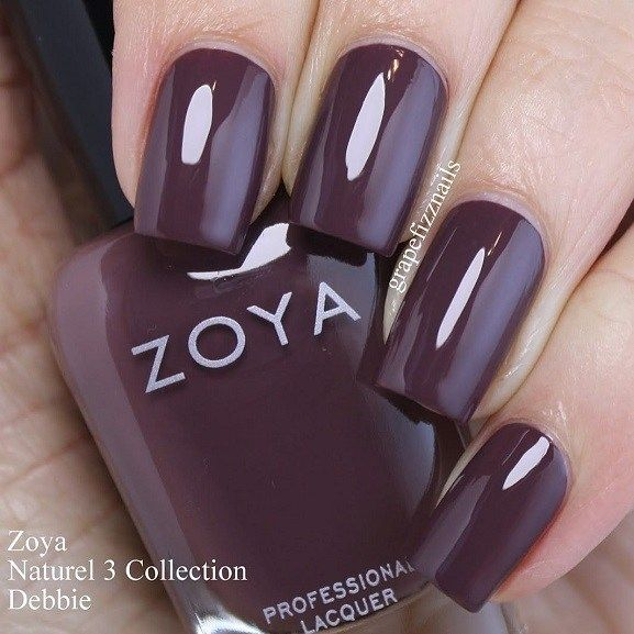 Chocolate Colored Nail Color Idea Fall Ideas Autumn Colour