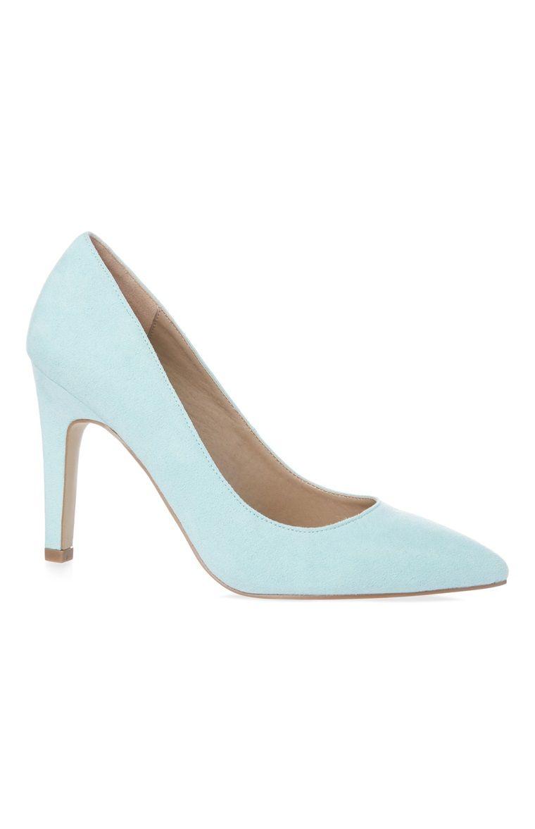 Primark - Zapatos de tacón de aguja color menta  ed0b7ed4bf30