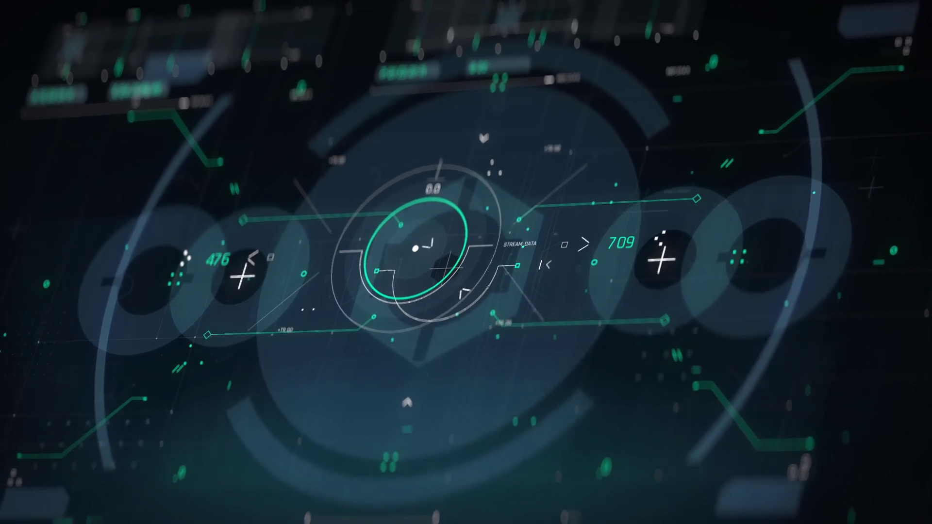 Sci-Fi Interface HUD FUI Pack #userinterface