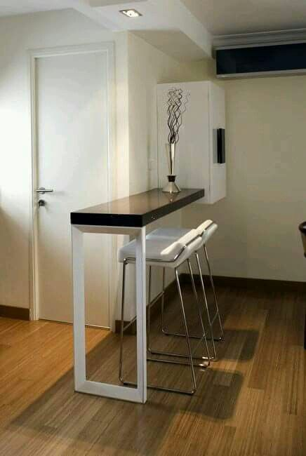 Sleek, minimalist design to save space | small space solution ...