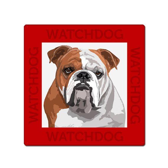 English Bulldog dog sign, plate | English bulldogs and Dog