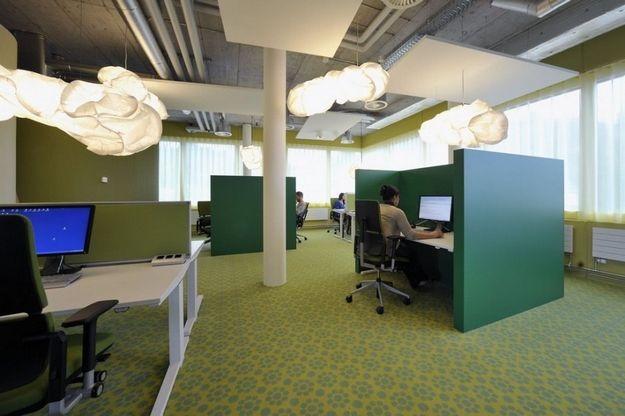 Best Interior Office Design With Floral Carpet 3 Tips Office