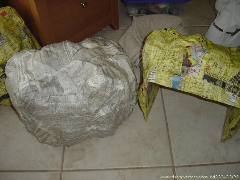 How To Make Fake Rock From Cardboard