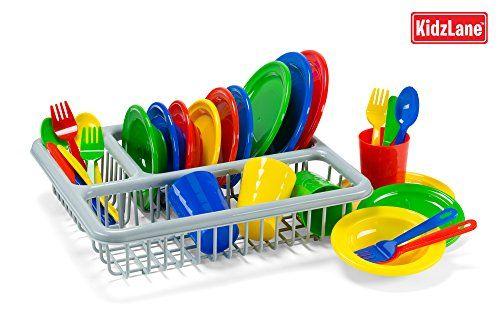 Pretend Play Childrens Dish Set