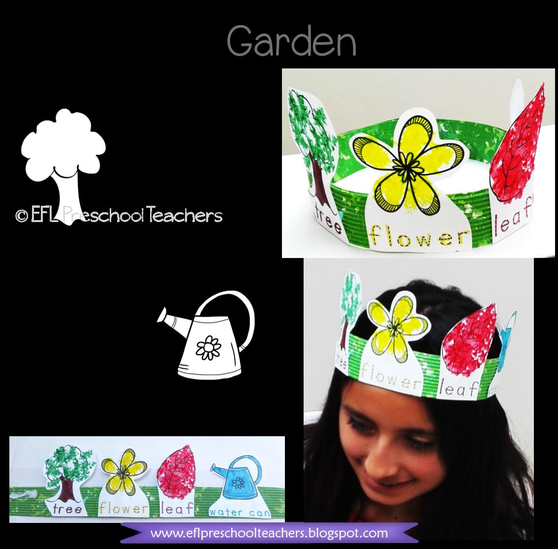 Esl Garden Worksheets Kindergarten Schools Resource Classroom Garden Theme [ 1115 x 1134 Pixel ]