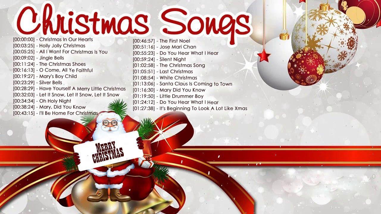 Christmas Carols 2018 Nonstop Medley - Top Classic Christmas Songs ...