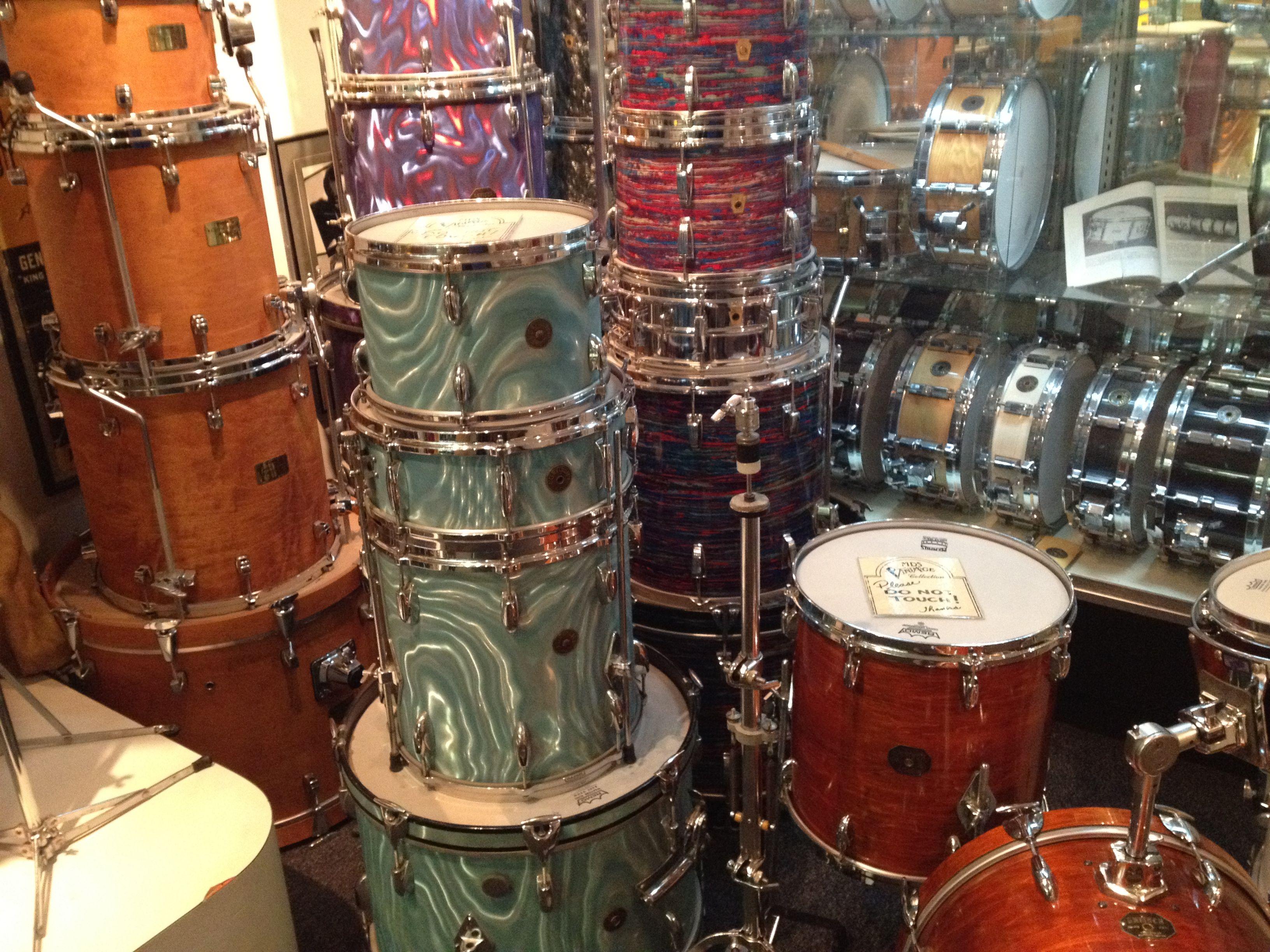 Vintage Kits At Memphis Drum Shop Drum Shop Drums Drum Kits