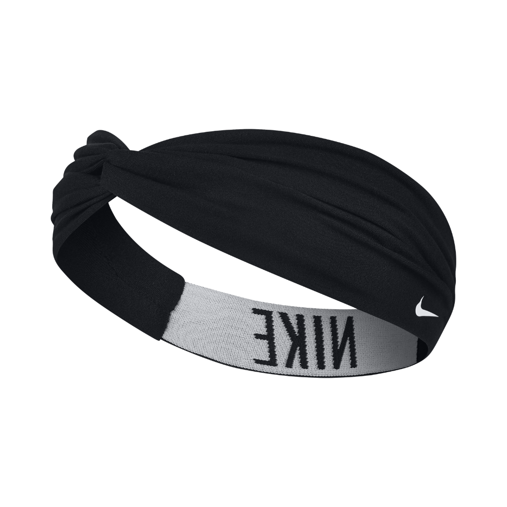 Nike Logo Twist Headband Black Products Nike