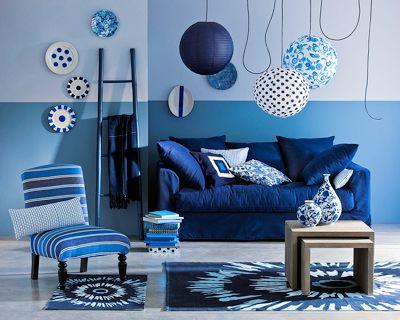 salon bleu recherche google nuances de bleu pinterest google search and salon marocain - Decoration Salon Bleu