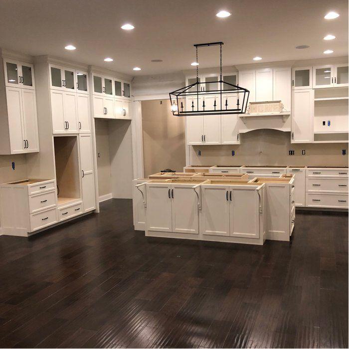 Carmen 6 Light Kitchen Island Linear Pendant Kitchen Cabinets Makeover Farmhouse Kitchen Cabinets New Kitchen Cabinets