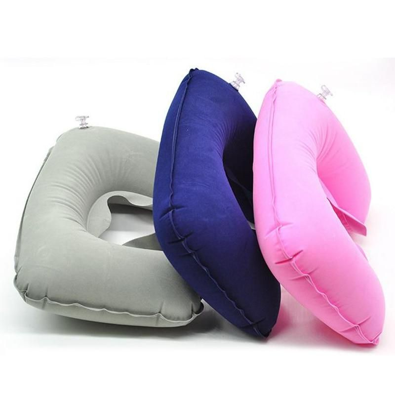 Inflatable Pillow Air Cushion Neck Rest