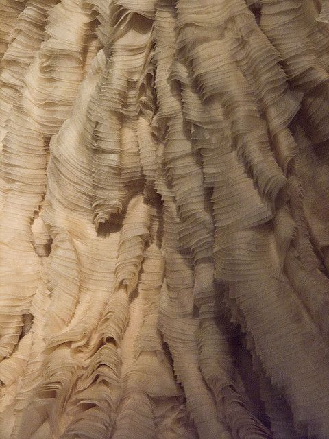 Oyster Dress Detail by Kimm Still, via Flickr
