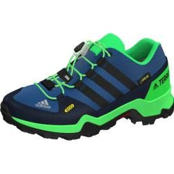 Photo of Adidas kids Terrex Gtx shoe, size 36? in Core / Blue / S17 / Core / Black / Energy / Green / S17, size 36?